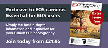 EOS magazine advert