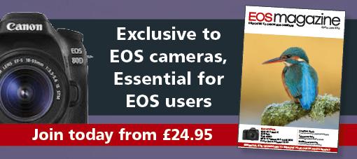 EOS magazine advert
