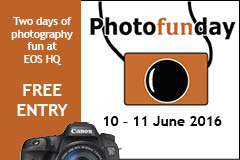 EOS magazine Photofunday banner